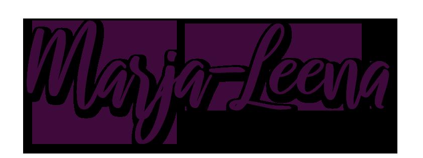 Marja-Leena tumma logo