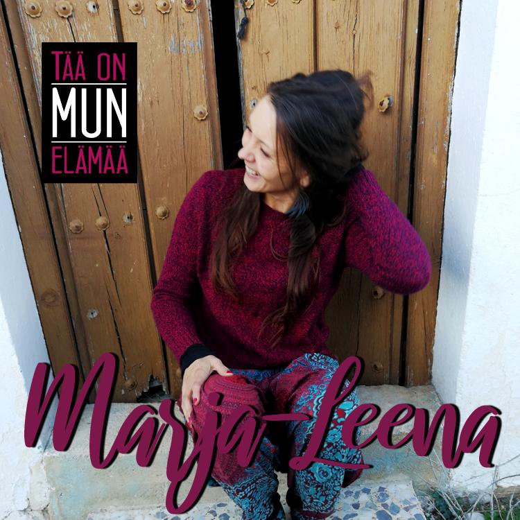 Marja-Leena - Tää on mun elämää singlen kansikuva