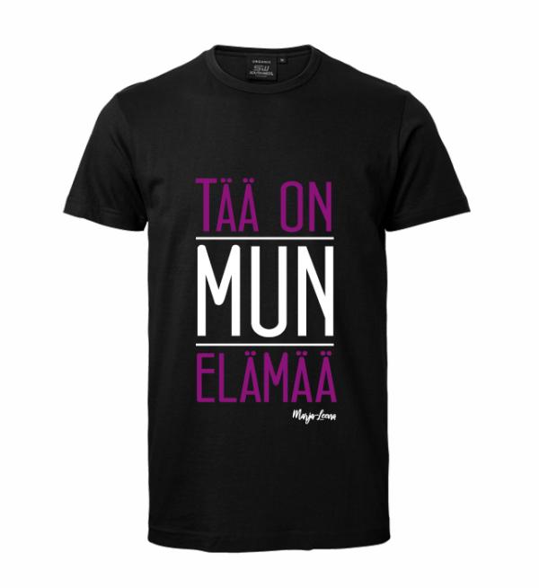 Marja-Leena - Tää on mun elämää - miesten t-paita