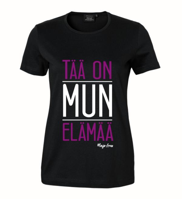 Marja-Leena - Tää on mun elämää - naisten t-paita