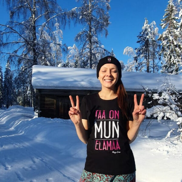 Marja-Leena - Tää on mun elämää naisten t-paita